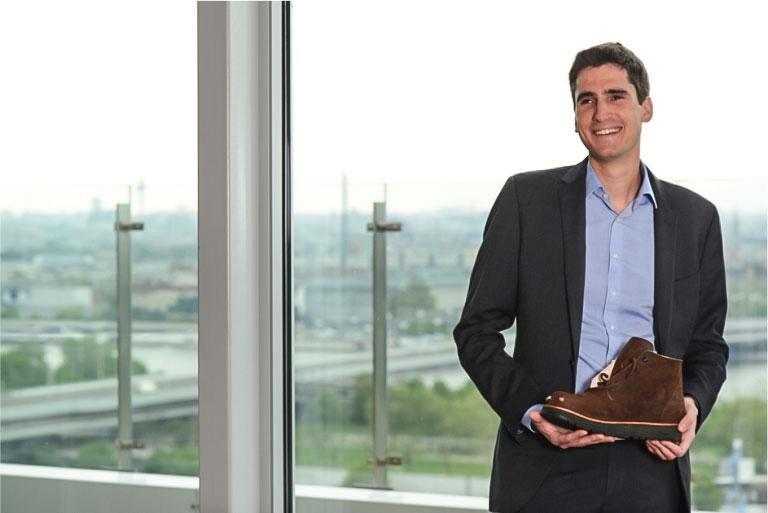 Am Bild Markus Raffer, CEO der Tec-Innovation GmbH