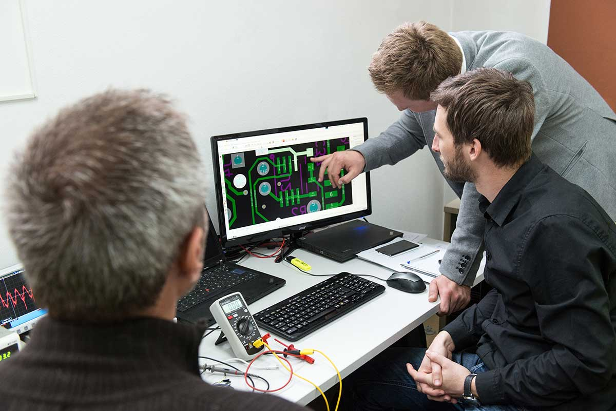 The picture shows the team of the Tec-Innovation.