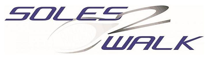 Am Bild zu sehen, Logo SOLES2WALK